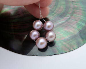 RARE QUALITY AA+ FRESHWATER EDISON HIGH GRADE CULTURED PEARLS - NATURAL COLORS