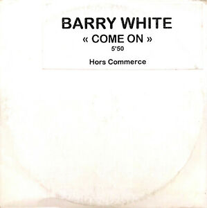 Barry-White-CD-Single-Come-On-Promo-France-VG-EX