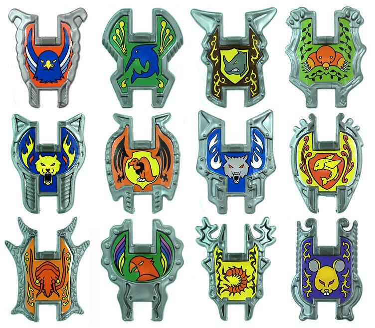 Bestias Láser-Set Completo Escudos x12 inferior-HQ batalla beastformers No Hasbro