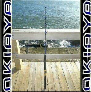 SALTWATER-FISHING-RODS-30-50LB-FISHING-POLE-034-BLUELINE-034-FOR-PENN-SHIMANO-6FT