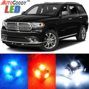 8 x Premium Xenon White LED Lights Interior Package Upgrade Dodge Grand Caravan