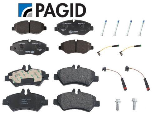 For Dodge Freightliner Mercedes Sprinter 2500 Front /& Rear Disc Brake Pads Kit