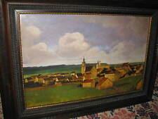 HUBER-SULZEMOOS Hans, *1873 Blick über ein Dorf