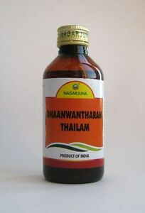 Details about Nagarjuna Dhaanwanthaaram Thailam 200ml Treatment of  Neurological Conditions