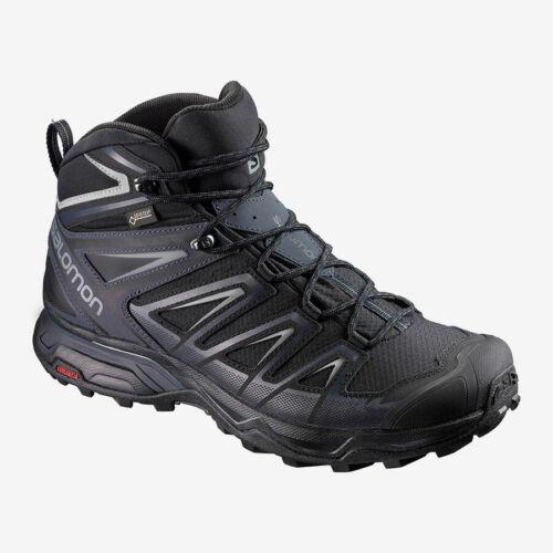 Salomon X Ultra 3 MID GTX Herren Trekkingschuhe Outdoor Freizeit schwarz NEU
