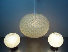 Danish Design Temde Leuchte Paar Nachttisch Lampen Teakholz + Deckenlampe 60er