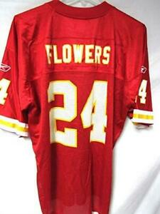 Details about Kansas City Chiefs Mens Size X-Large Brandon Flowers #24 Screened Jersey A1 1022