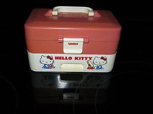 Vintage Hello Kitty Jewelry Music Box Sanrio 1983 CBS Toys Child Guidance