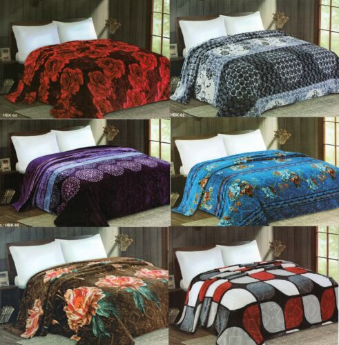 New Selection Plush Very Soft Flannel Blanket King Size  Multi Designs