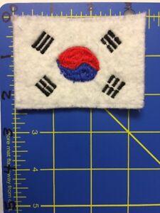 South Korea Flag Patch Korean Taegukgi Taeguk Balance Trigrams Taekwondo Korean Ebay