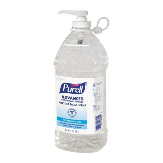 PURELL 9625-04 2L Pump Bottle Instant Hand Sanitizer
