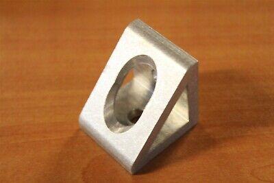 80//20 Inc T-Slot Aluminum 2 Hole Gusseted Bracket 40 Series #40-4332 N