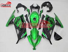 Complete Fairing Kit for Kawasaki Ninja 300 EX300 2013 2014 2015 2016 Green