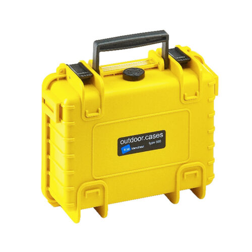 B /& W outdoor case 500 Yellow si