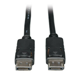 6-039-Male-DisplayPort-to-Male-DisplayPort-High-Quality-Audio-Video-Cable