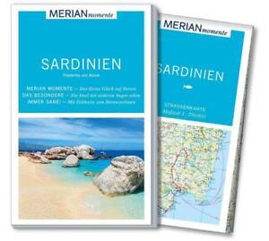 REISEFUHRER-SARDINIEN-LANDKARTE-2017-18-MERIAN-momente-ungelesen-WIE-NEU