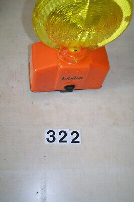 gelb Blinkleuchte Baustellenlampe Warnleuchte Baulampe