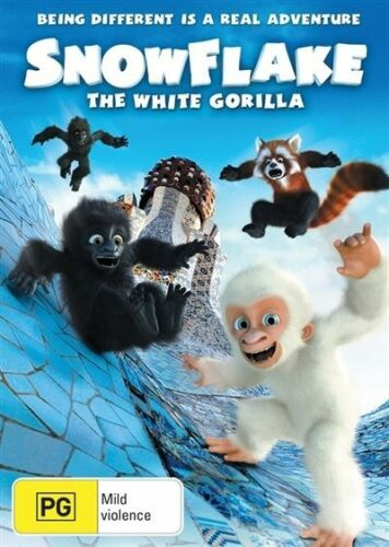 1 of 1 - Snow Flake - The White Gorilla (DVD, 2012)-REGION 4-Brand new-Free postage
