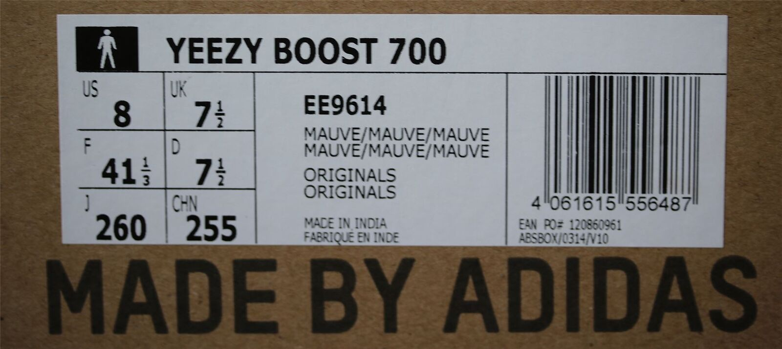 ADIDAS Yeezy Boost 700 Wave Runner Runner Runner Scarpe Da Ginnastica EU 41.5 US 8 2de275