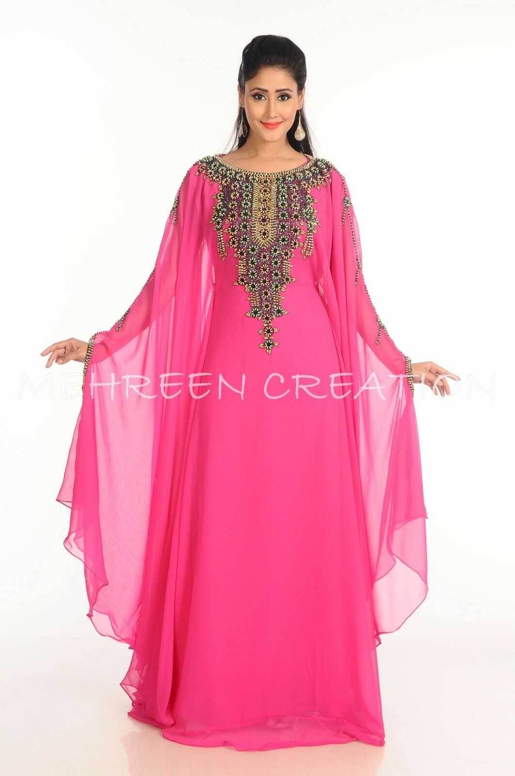 GET THIS DUBAI MODERN FARASHA AT LOWEST PRICE BY MEHREEN CREATION PARTY WEAR