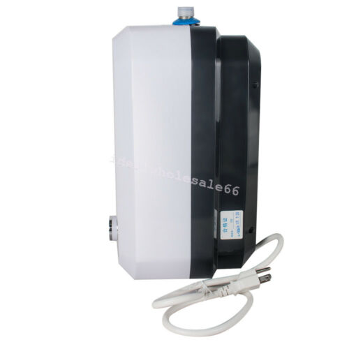 8L Electric Tankless Hot Water Heater 55℃-75℃ 1500W Kitchen Bathroom Home Warmer