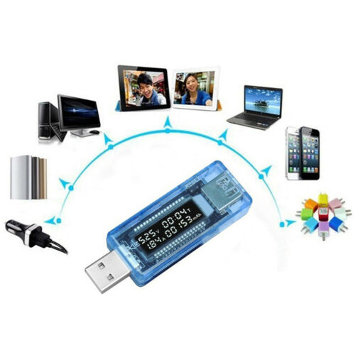 Current Voltage Capacity Tester USB Volt Power Bank Capacity Doctor Meter