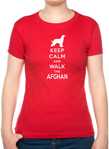 Keep Calm /& Walk Afghan Hound Dog Lover Drôle Cadeau D/'Anniversaire Sweat-shirt