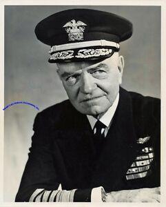 WW2-admiral-Bull-Halsey-signed-8-034-x-10-034-photo-in-Navy-uniform
