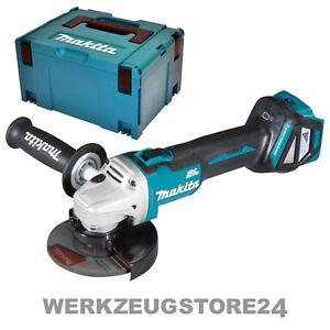 Makita-DGA511ZJ-Akku-Winkelschleifer-18V-125mm-Solo-im-Makpac-ohne-Akku