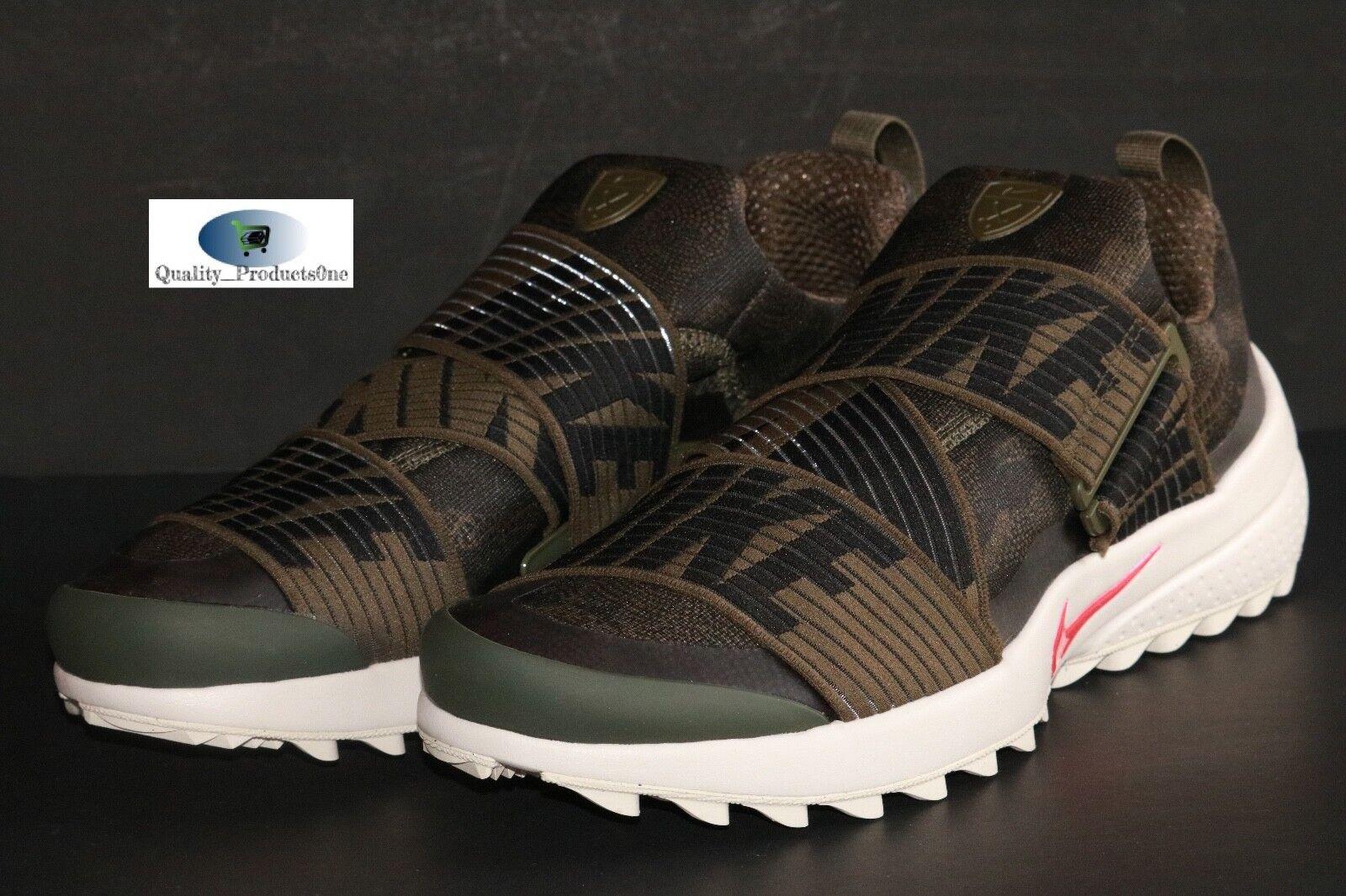 Mens Nike Air Zoom GIMME Cargo Khaki/Black-Light Bone 849955 301 Sz 11