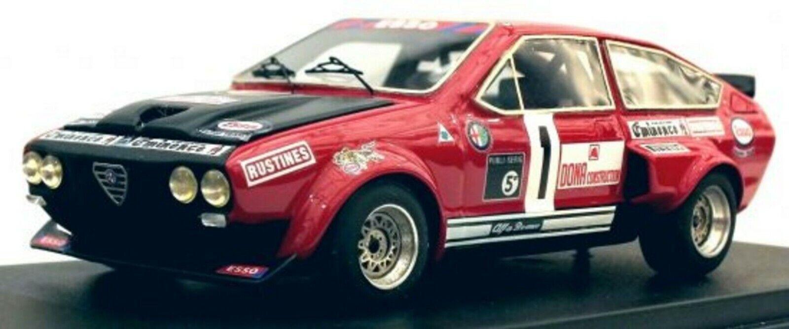kit alfa romeo gtv v8 gr.5  1 rally criterion of the touraine 1978-tron 1 43  livraison et retours gratuits