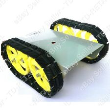 TANK Plastic Track Type 2WD ROBOT KIT-1 (TD-RK12WDTNKAL)