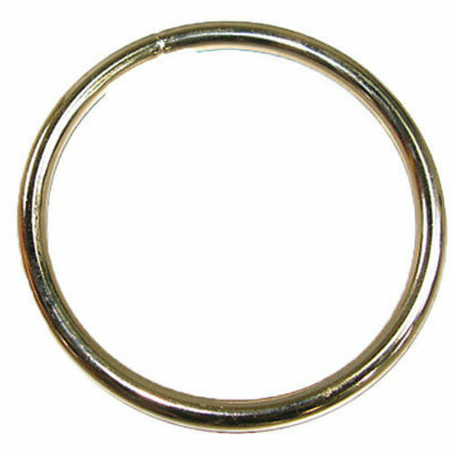 """Nickel Plated 1188-00 Solid Ring 3.5/"""" 8.9 cm"""