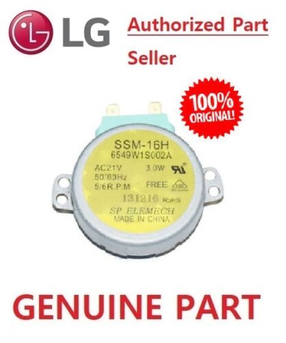 LG 21Volt Microwave Oven Turntable Motor Part # 6549W1S011L