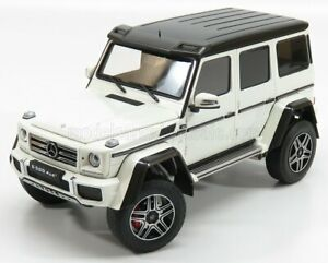 ALMOST-REAL 1/18 MERCEDES BENZ   G-CLASS G500 4X4 2 2015   WHITE