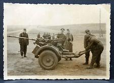 Soldaten mit Pak - Foto WK 2 aus Album Luftwaffe DR WW War Photo (I-1391