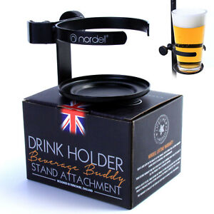 Drinks-Holder-Metal-Pint-Glass-holder-for-Microphone-Mic-Stand-Live-Performance