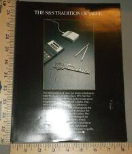 1992 S&S Victoria Cadillac Hearse Coach Brochure Folder