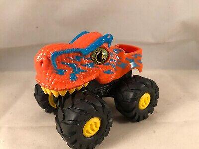 Orange Dino Valley Monster Truck Friction Car Dinosaur Jurassic Ebay