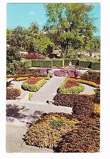 COLEUS--FORMAL GARDEN--KINGWOOD CENTER--MANSFIELD OHIO--POSTCARD
