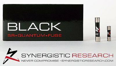 Synergistic Research Black SR Quantum Reference Fuse 20 x 5mm T10A