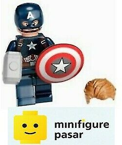 sh729 Lego Marvel Avengers Infinity Saga 76192 - Captain America Minifigure New