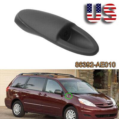Fits Toyota Sienna 2004-2010 Antenna Adapter Base Black Mount Fender Cover Bezel