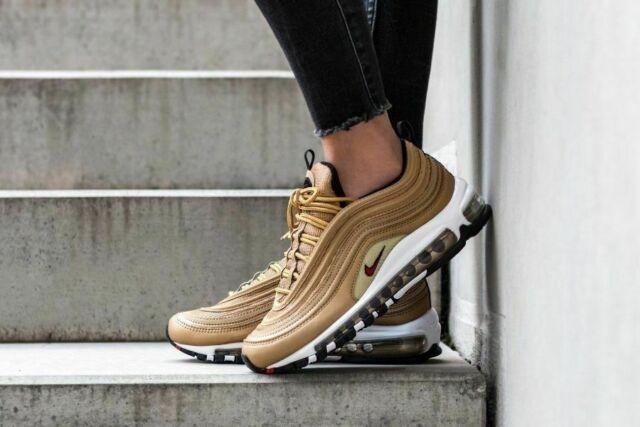 Nike AIR Max 97 QS (GS) 'Metallic Gold