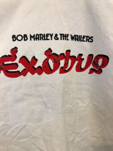 Bob shirt Records promo 70's Reggae Island WailersexodusVintage MarleyThe exoBCd