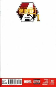 Mighty-Avengers-1-Blank-Sketch-Cover-Variant-NM