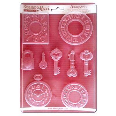 Stamperia Soft Maxi Mould Mold A4 21cm x 29.7cm Angels /& Hearts K3PTA431 New