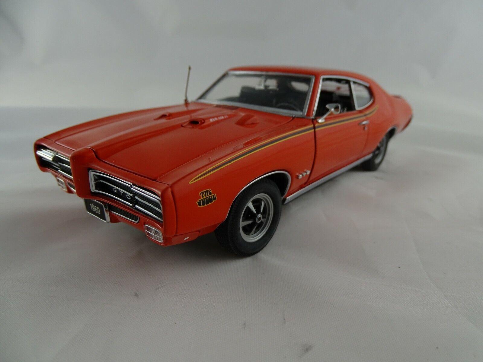 1 24 Danbury Mint 1969 Pontiac GTO Judge 1969 Orange
