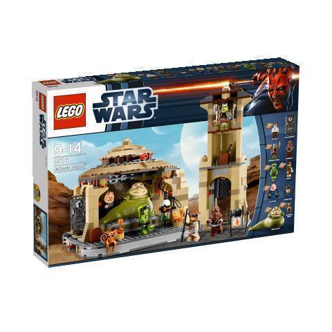 NUOVO LEGO STAR WARS PALAZZO DI JABBA  4480