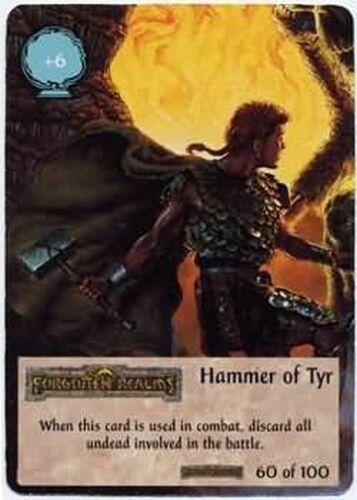 Spellfire Forgotten Realms Hammer of Tyr 60//100